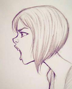 Я ещё не демон girl drawing sketches, boy sketch, human sketch, illustratio Girl Drawing Sketches, Pencil Art Drawings, Drawing Faces, Cartoon Drawings, Cool Drawings, Boy Sketch, Drawing Girls, Drawing Drawing, Drawing People