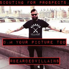 As our brotherhood and movement grows, I'm asked how do I get to be a part of @beardedvillains  All you need to do is D.M you picture to @beardedvillains and wait for your prospects badge to be sent.  Remember like your beard great results are always worth the wait!! Once you get your prospect badge, work hard in promoting our brotherhood and stay loyal!! @flamebwoy #beardedvillain #beardvillains #beardlife #prospectlife #beardedvillainsuk #beardedfraternity #beard #beards…