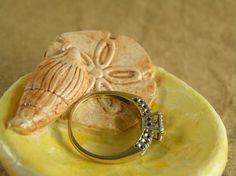 Sea shell ring dish  by TheAmethystDragonfly, $25.00 USD