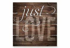 Hout Afbeeldingen - Giovanni - Just Love op Hout