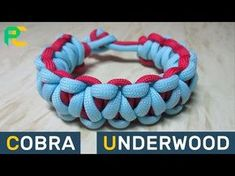(P827)Solomon's Fire Paracord Bracelet without buckle - YouTube