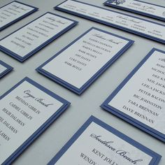 wedding seating chart ideas - Google Search