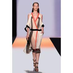 Funkiest dress I've seen in a while. Love. Ordering. >>> BCBGMAXAZRIA - DRESSES: RUNWAY: RUNWAY DAGA COLOR-BLOCKED DRESS