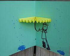 Pop open tutu and umbrella cards