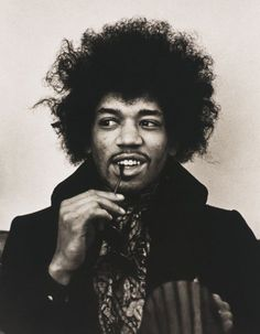 Jimi Hendrix by Linda McCartney, 1967