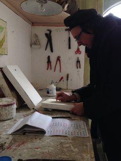 Studio di Mirco Marchelli #mircomarchelli #cardelliefontana