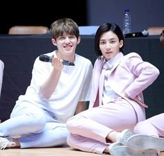 Seventeen fan meeting(3): jeonghan and scoups (jeongcheol) collection