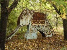 Playground in Chernobyl