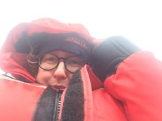 Selfie :) A slightly wet and windy boat ride in Vancouver, BC! Do I look cold?! © Sarah Murphy
