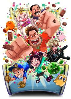 Disney's Wreck-It Ralph by Lillidan86.deviantart.com on @deviantART