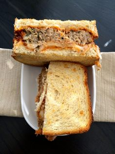 Rustic Meatloaf Sandwich National Sandwich Day, Meatloaf Sandwich, Sandwiches, Sad, Rustic, Cooking, Recipes, Country Primitive, Kitchen