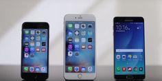 iPhone 6s, iPhone 6s Plus và Samsung Galaxy note5 điện thoại nào bền nhất