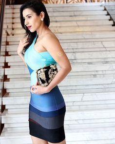 Happy weekend beautiful peeps   Check out this lovely bandage dress by @thekewlshop on blog now PS - the luxurious clutch made for such a beautiful companion and fetched me so many compliments  #instafashion #instastyle #loveit #yummy #girls #bollywood #giveaway #travel #dress #friends #happy #daily #igers #indianfashionblogger #bangalore #delhi #mumbai