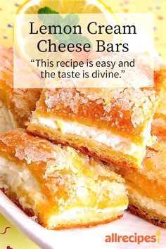 """256 reviews · 45 minutes · Vegetarian · Serves 24 · Lemon Cream Cheese Bars 