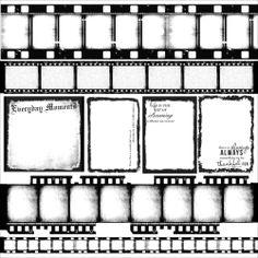 """Craftie-Charlie: Kaisercraft Art of Life 12""""x12"""" Negatives Acetate Sheet PS328"""