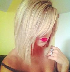 @charitykay20 this style would be cute - I love your long hair... but if you do cut it.. you could pull this off easy!