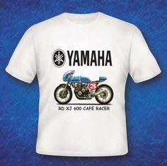 Yamaha Rd Xj 600 Cafe Racer Classic Vintage Biker Enthusiast T Shirt Yamaha Cafe Racer Vintage Biker Cafe Racer
