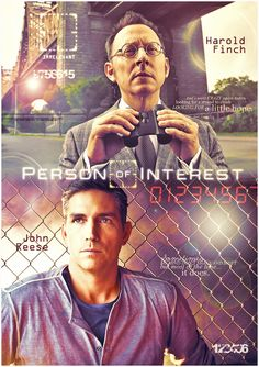 Person Of Interest Poster by Anthony258.deviantart.com on @deviantART