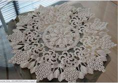 Ideas For Crochet Patrones Ganchillo Chalecos Crochet Dollies, Crochet Doily Patterns, Crochet Motif, Crochet Designs, Crochet Flowers, Knitting Patterns, Mandala Crochet, Freeform Crochet, Crochet Art