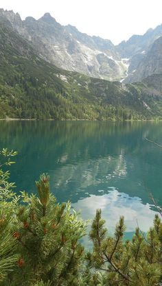Morskie Oko Lake (Sea Eye Lake) in Tatra Mountains - one of the most beautiul places in Poland
