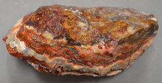 Mexican Lace Agate Rough 5 pounds 13 ounces Lapidary Slabbing Cabbing Tumbling Crazy Lace Agate, 5 Pounds, Highlight, Mexican, Patterns, Colors, Food, Lights, Block Prints