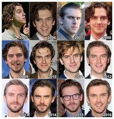 "theonewiththevows: "" The Evolution of: Dan Stevens "" <<< slayin' for evermore oops yeah I just did that excuse me while I go cry"