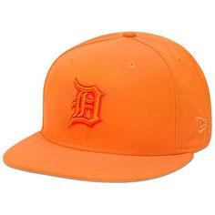 Men's Detroit Tigers New Era Tonal Pop Orange Popsicle 59FIFTY Fitted Hat, Your Price: $34.99
