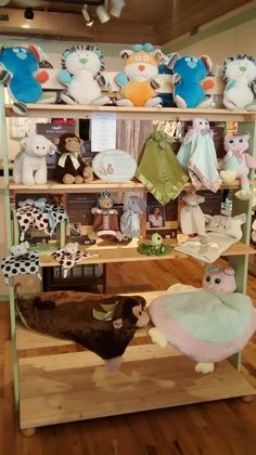 Bearington Baby is a favorite display in the shop.
