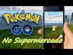 Capturamos 10 pokemons no Supermercado / Pokemon Go