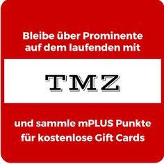 Mit dem App TMZ kannst du dich nicht nur über den Tratsch über Prominente auf dem laufenden halten, sondern auch kostenlose Gift Cards bekommen. Lese hier wie: #giftcard #UsaBilligAberGutLeben