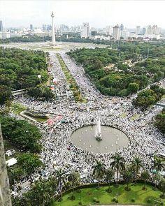 Aksi Damai 212, Jakarta.