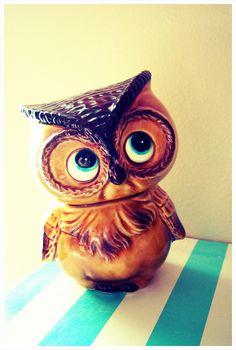 Whooo Me? Owl bank Pinned by www.myowlbarn.com