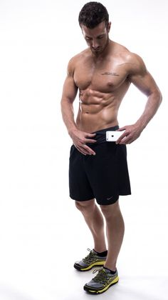 Give Dad, or your Hubby, a FlipBelt. He can use it to store his wallet, keys, phone, etc... whenever he is exercising, working in the yard, etc....