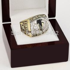 Free shipping 199...  #buy it at  ReShop Store  here http://www.reshopstore.com/products/free-shipping-1998-atlanta-falcons-nfc-football-championship-rings-size-10-13-with-high-quality-wooden-box-fans-best-gift?utm_campaign=social_autopilot&utm_source=pin&utm_medium=pin