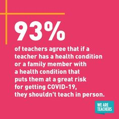 There's a lot of confusion about how to return to in-person teaching safely. You shared what you need to feel safe teaching in person. We Are Teachers, Safe Schools, Confusion, Health Education, Health And Safety, Stress Relief, Classroom Management, Teaching Kids, How To Stay Healthy