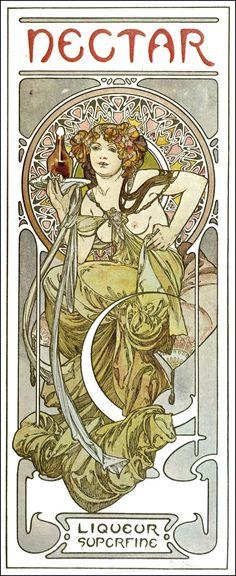 by Alphonse Mucha - Documents Decoratifs  (1901)