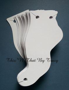 Anklet jewelry cardsBarefoot Sandals card by ThisNThatByTracy, $5.00