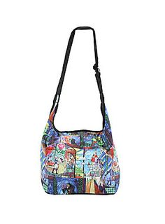 ENCHANTING // Disney Beauty And The Beast Stained Glass Hobo Bag