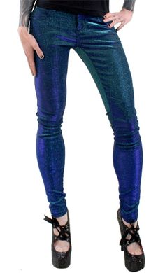 Because too awesome not to wear. Tripp Shine On Jeans - Blue.