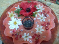 handmade candle disc!
