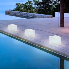 Cube - Solarleuchte in Würfelform