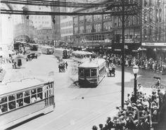 Streetcar Parade, Monroe & Pearl - 1926