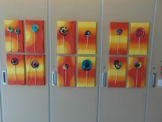 Textielmuseum, Tilburg, Lekkere kleuren! Gemaakt door basisschoolleerlingen