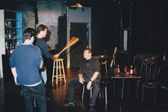 A director lives dangerously ))) Rehearsal work, The Phoenix, written by Morgan Spurlock, directed by Andre Kirchner Dion