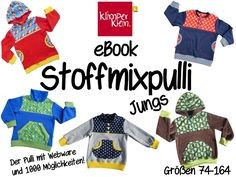 eBook Stoffmixpulli guys - Klimperklein - Patterns and more