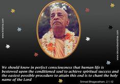 Quotes by Srila Prabhupada on Achieving Spiritual Success