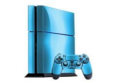 PlayStation 4 Skin (PS4) - NEW - SKY CHROME MIRROR system skins faceplate decal mod - http://androidizen.com/shop/playstation-4-skin-ps4-new-sky-chrome-mirror-system-skins-faceplate-decal-mod/