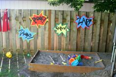 On My Side of the Room: Superhero Party - Games/Activities