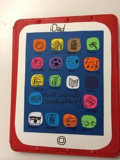 Isänpäiväkortti iDad