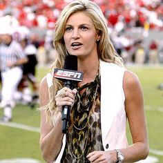 Erin Andrews. The First Lady of ESPN.